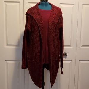 Merona Hooded Cardigan
